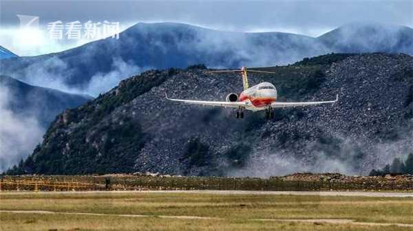 ARJ21在高海拔机场完成专项试验试飞图片