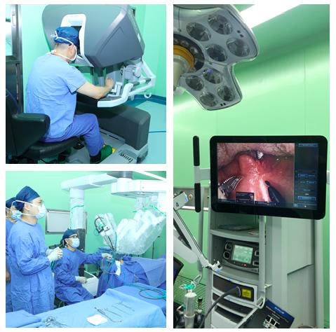 出血一小匙,当天能说话,全国首家眼耳鼻喉专科医院装备机器人系统行口咽癌手术