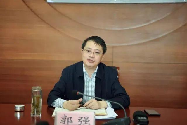 合肥市委副书记郭强,任安徽省委常委图片