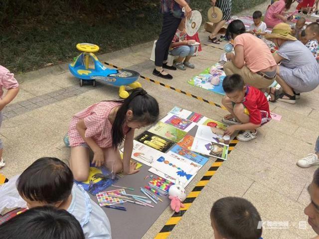 孩子们的暑期怎么安排?杭州这个社区办了个跳蚤市场