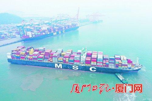 厦门港务集团维护产业链供应链稳定:定制物流解决方案 让企业出口更便捷