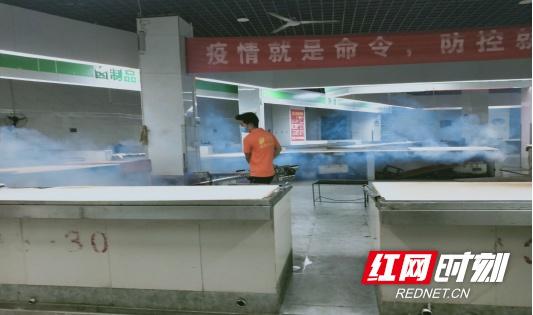 永州:江永县开展全民爱国卫生运动宣传与城区灭蚊蝇蟑活动