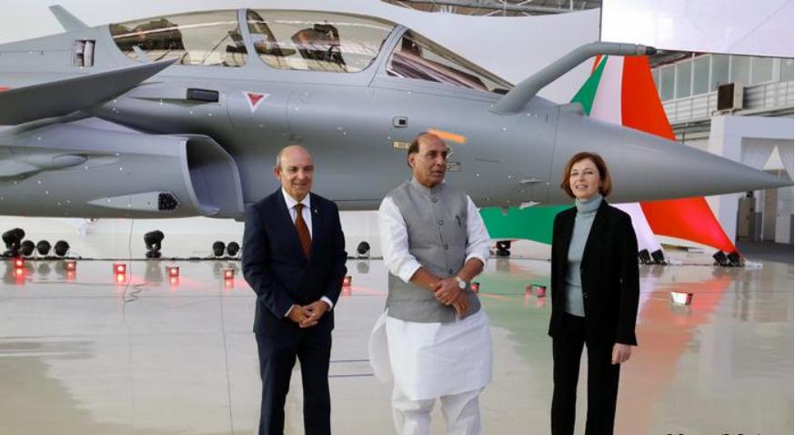 印防长暗指中国要小心印度的阵风战机 中方回应图片