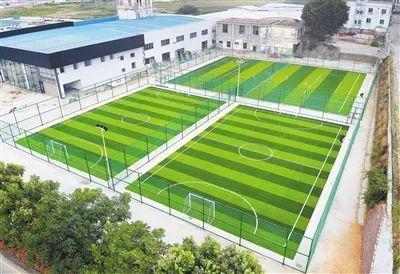 赤坎区今年将新建6个五人制足球场!