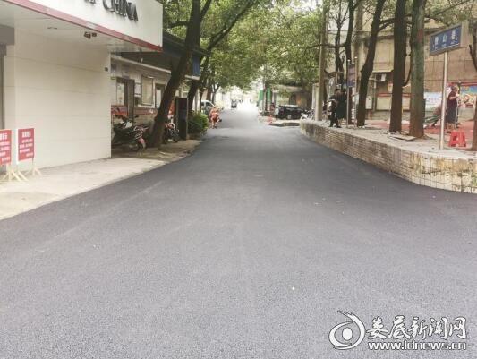 娄星工业集中区帮助花庙冲社区举办道路质量改