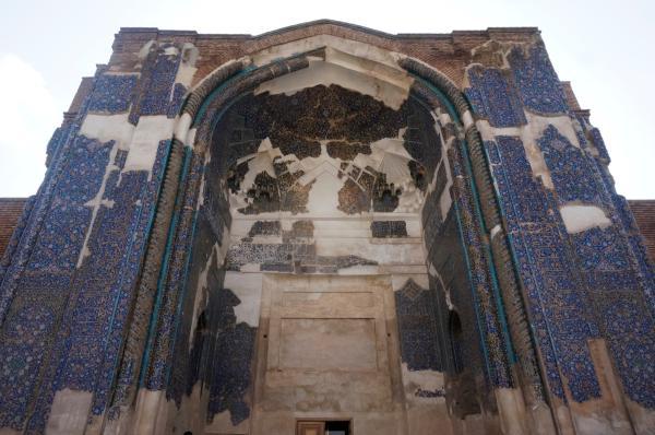 伊朗笔记① 从大不里士的蓝色清真寺到马拉盖的红塔