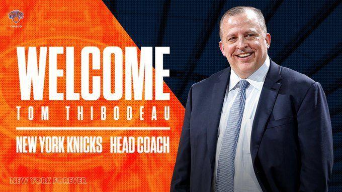 尼克斯选帅大戏落幕,前NBA最佳教练锡伯杜接印图片