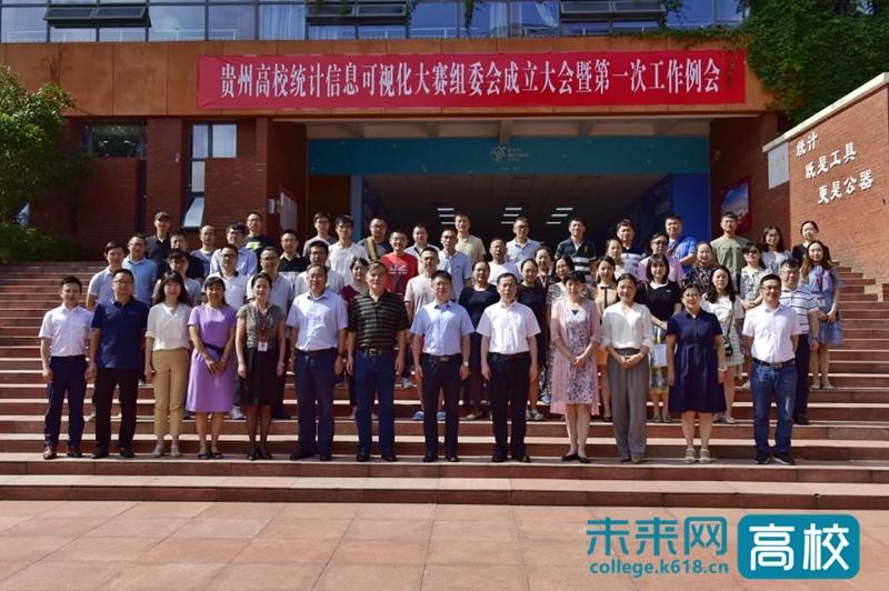 贵州高校统计信息可视化大赛组委会成立大会在贵州财经大学举行