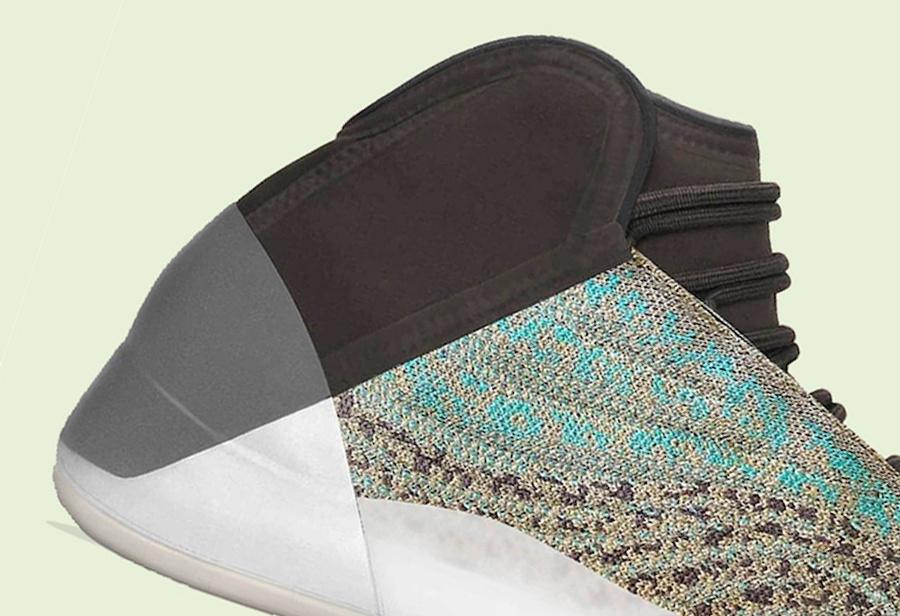 蓝灰撞色设计!Yeezy 篮球鞋全新配色下月发售,只不过...
