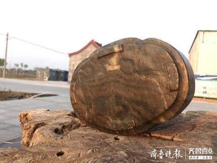 清代寿山石海棠盆