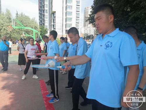 安宁区残联举办残疾人特奥会 50名残疾人运动健儿展现风采