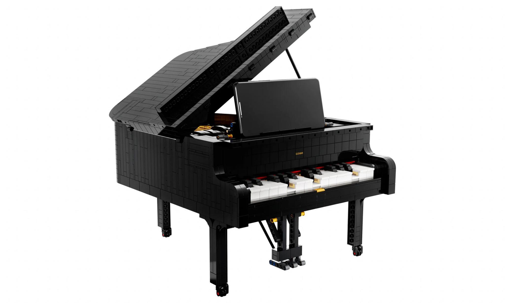 是日美好事物连上手机能自行演奏的乐高钢琴回忆九十年代的宝可梦联名电子配件