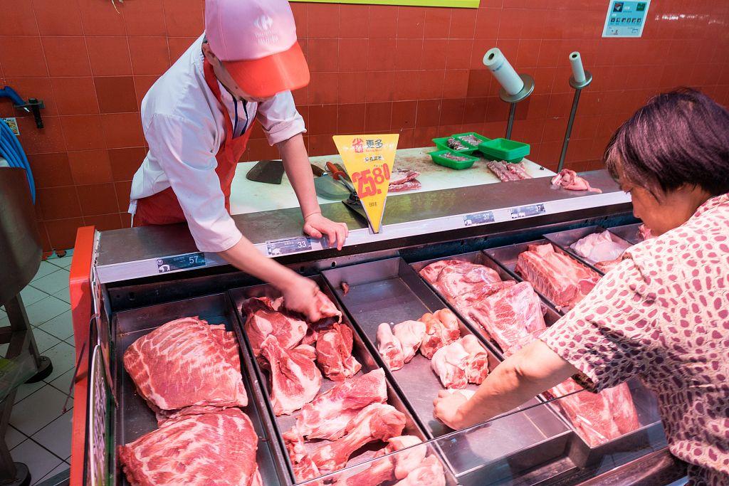 猪肉的批发价格现在已经连续五年上涨。|猪肉