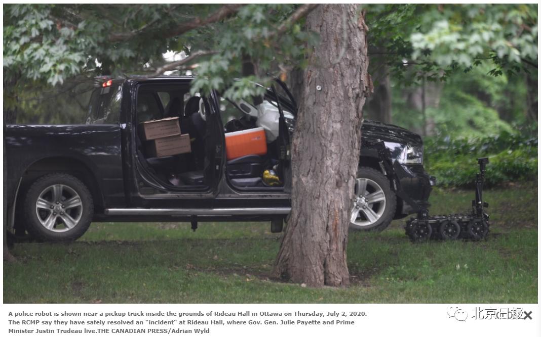 加拿大一军队人员携武器突闯总督