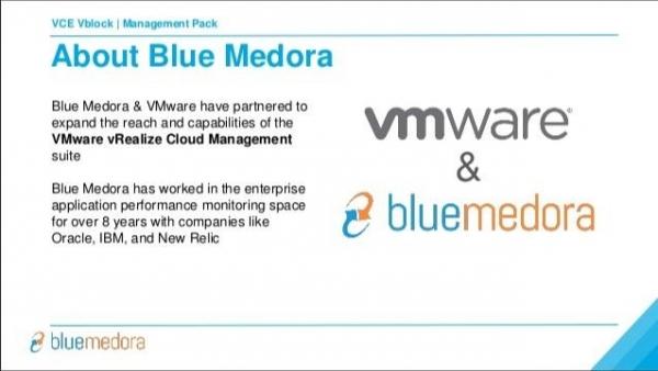 VMware收购Blue Medora旗下业务 意在增强混合云管理