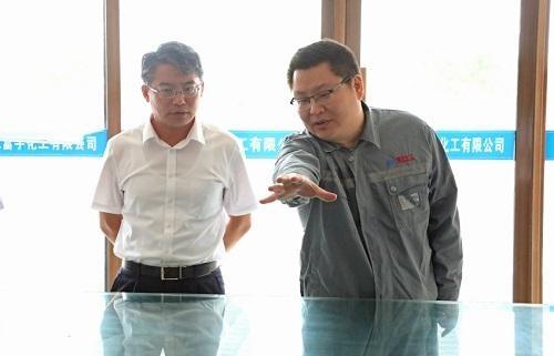 东营河口区委书记赵书刚调研部分工业企业生产运营情况