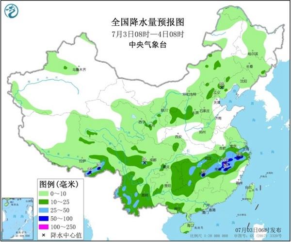 天富官网:持续31天天富官网的暴雨预警图片