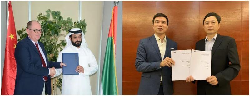 广州钻石交易中心与迪拜多种商品交易中心达成战略合作
