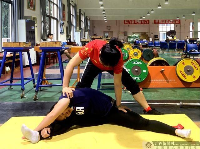 广西女子举重运动员蒋惠花入选新一期国家举重队