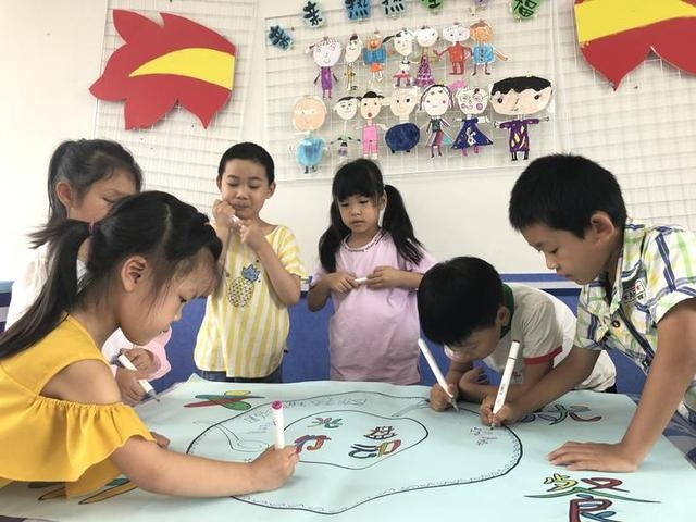 长塘镇中心幼儿园开展主题教育活动