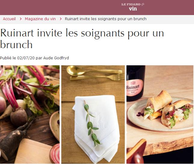 为表感谢 法国一香槟酒屋邀请医护人员免费就餐