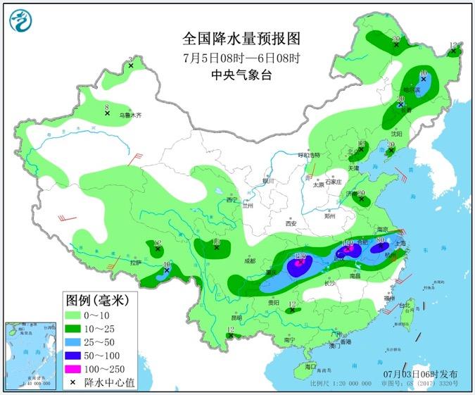 雨神驻鲁 未来三天山东仍多雷雨天 局部有阵风7~9级