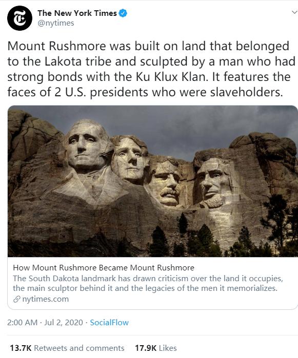 《纽约时报》做了一件事,使白人美国人炒!|纽约时报|美国|特朗普