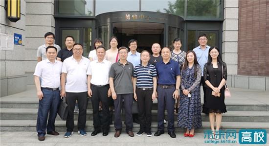 江苏如东沿海经济开发区到山西大学开展人才需求和项目对接