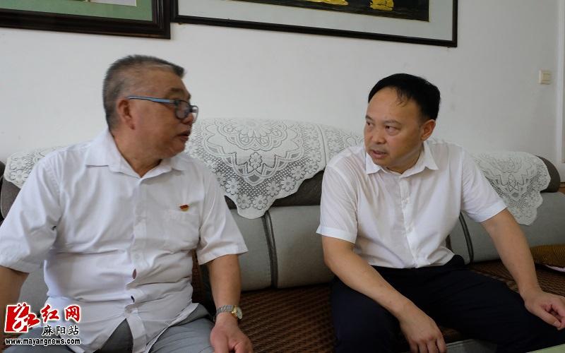 麻阳:李卫林深入高村镇走访慰问基层党员代表