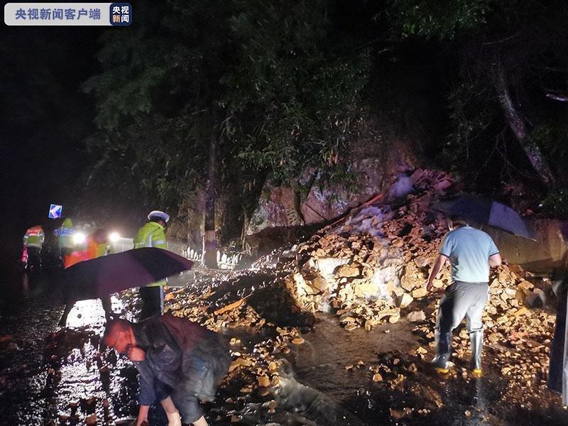 浙江多地遭遇短时强降雨 杭州西部山区部分村庄受灾
