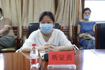黑龙江哈尔滨铁路运输检察院召开民事支持起诉案件公开听证会