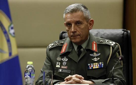 希腊军方高层警告土耳其出现军事意外事件的风险在增大