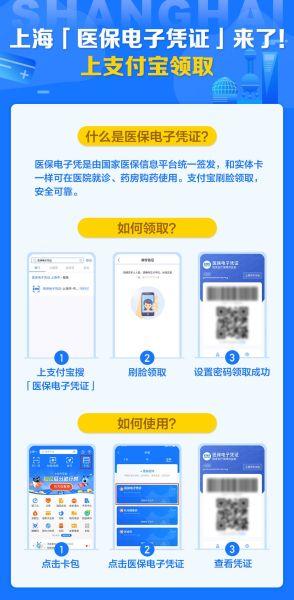 """上海""""医保电子凭证""""来了!支付宝领取可医院就诊、药房购药"""