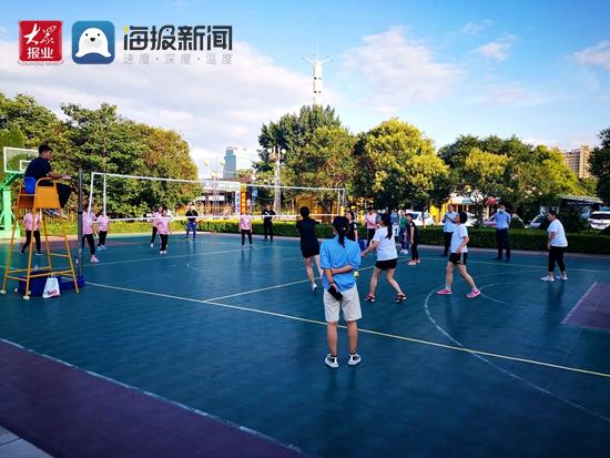 新华医疗2020年职工女排比赛落下帷幕 感控事业部代表队获冠军
