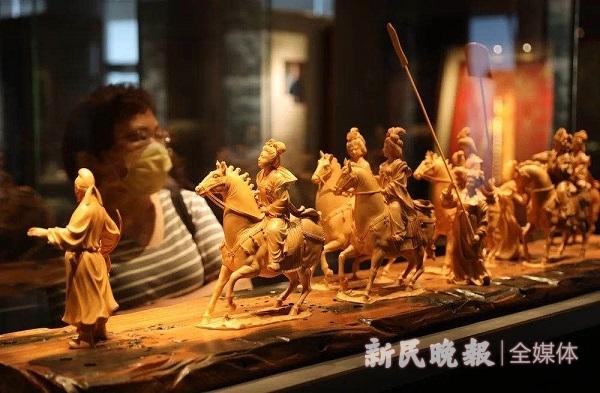 展示中国传统文化之美 上海宝库匠心馆国家3A级旅游景区正式挂牌