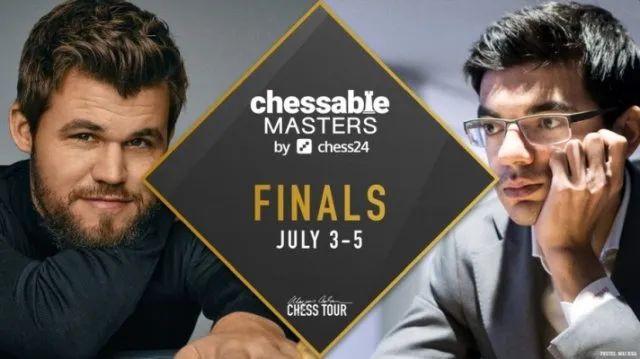Chessable国际象棋大师赛决赛卡尔森先拔头筹