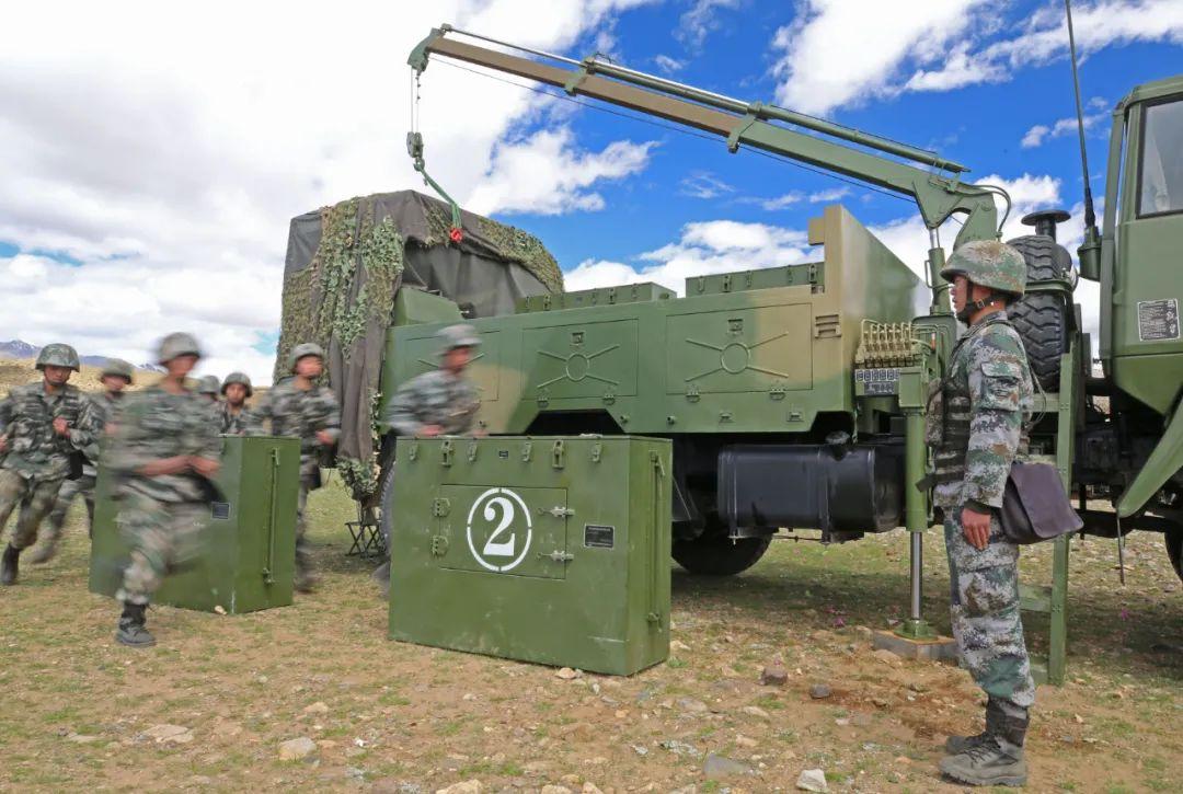 聚焦实战,西藏军区某旅海拔4700米战备训练