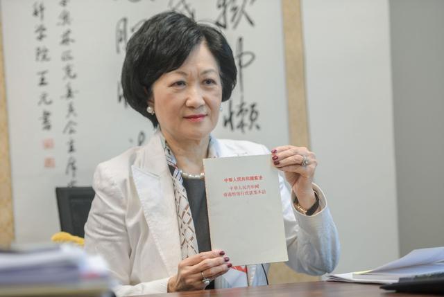 """""""港独""""分子逃跑?叶刘淑仪:他们也很怕坐牢图片"""
