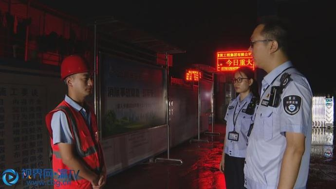 """重庆綦江:为高考""""静音"""" 环保部门开展夜间噪音专项督查"""