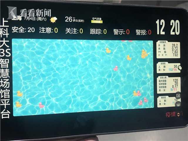 全国首套3S泳客安全预警管理信息系统在上海启用