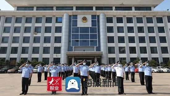 """""""庆七一""""日照市港航公安部署开展""""党建活动月""""系列活动"""