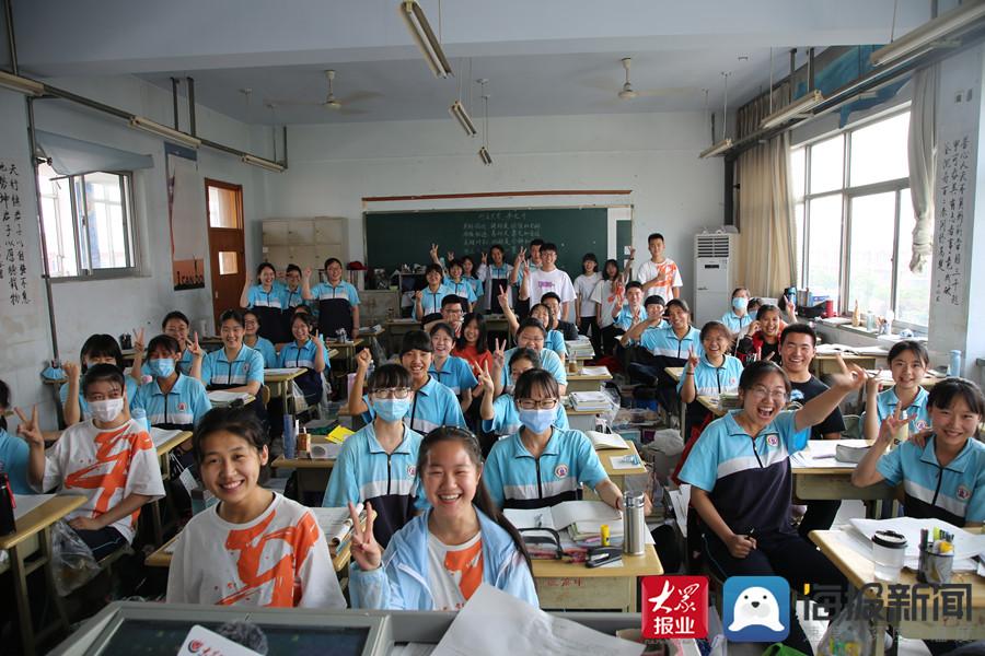 高考进入倒计时 滨州学子努力拼搏的样子真美!