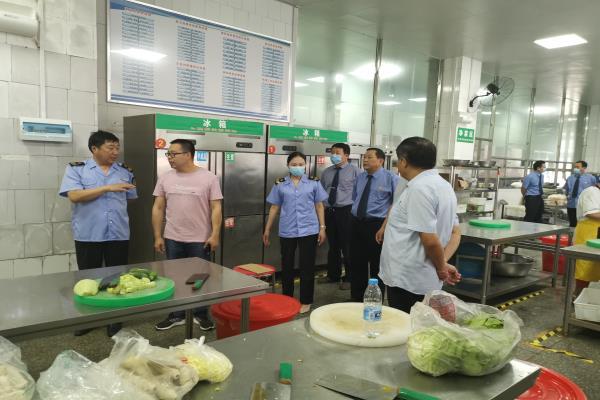 """河南省项城市检察院:检察蓝护航高考 保障学子""""舌尖""""上的安全"""