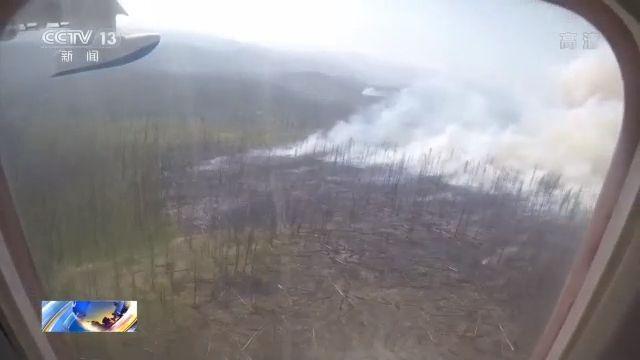 过火面积近300万公顷 俄罗斯西伯利亚地区再起森林大火