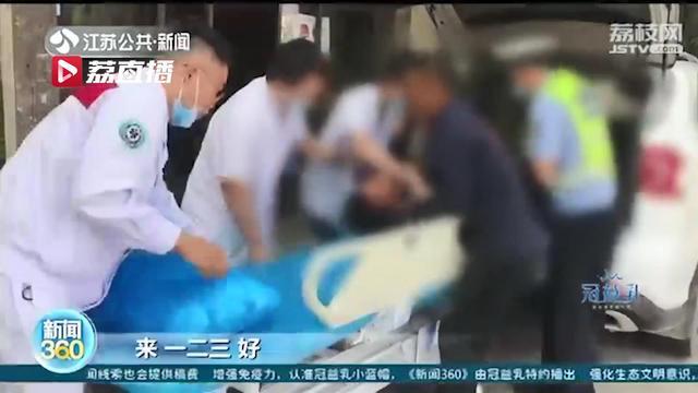 情况紧急!工人被钢管砸伤 交警开辟绿色通道送医