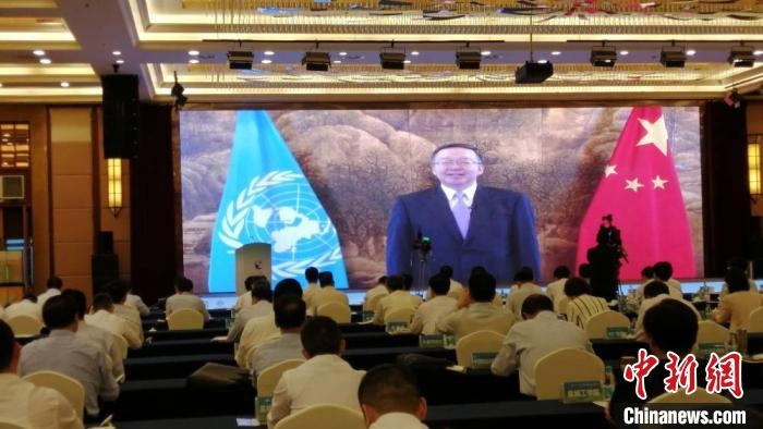 中国黄(渤)海候鸟栖息地(第一期)世界遗产证书在盐城揭幕