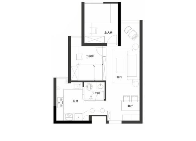 63平米的房子有多大?北欧风格预算3万如何装修好?-海淀中街装修