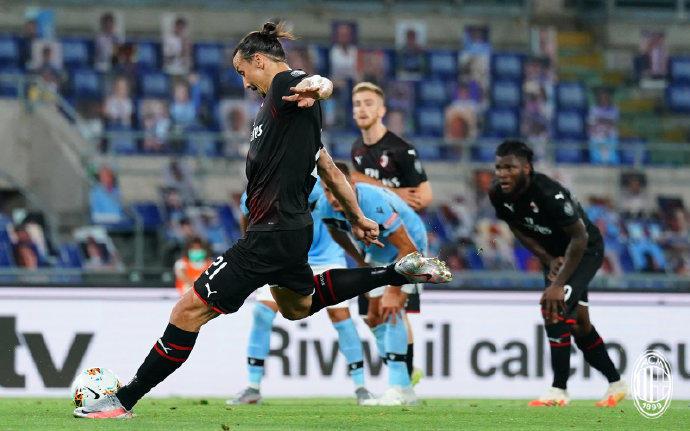 AC米兰3-0客胜拉齐奥,恰球王世界波伊布点射