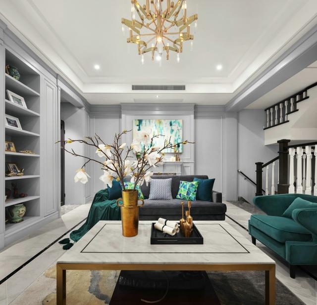 217平米现代风格四居室,预算32万,点击看效果图!-国奥村装修