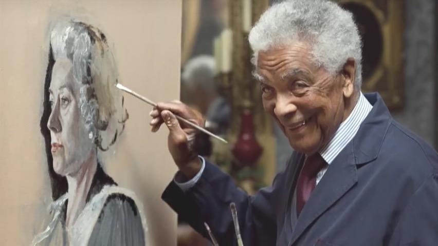 英国黑人演员先驱厄尔-卡梅伦去世 享年102岁图片